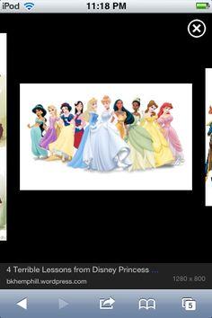 All princesses
