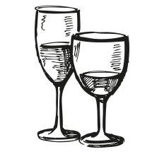 Kontaktieren Sie uns einfach - Die Weinbank Wine Glass, Tableware, Wine, Simple, Dinnerware, Tablewares, Dishes, Place Settings, Wine Bottles