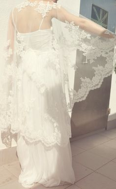 Bridal Lace CapeletLace CloakBridal by OLBEE on Etsy, $1,480.00