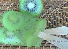 Helados Sanos y Naturales de Kiwi