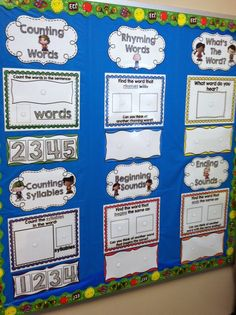 My Kindergarten Obsession : Word Works Daily: Reading Skills Routine for Kindergarten (Win it!)