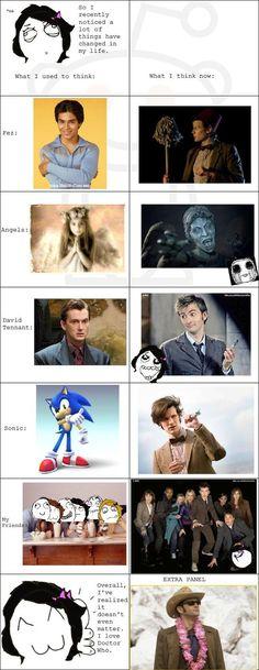 Doctor Who changed my life U_U