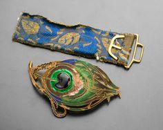 Spona | Perol Fréres bútorgyár (Párizs) | 1900 | Www.Esbirky.Cz | CC0 Famous Art, Art Nouveau Jewelry, Turquoise Bracelet, Cuff Bracelets, Jewels, Prague, Accessories, Fine Art, Jewellery