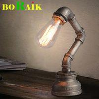 Lámparas de Mesa de la Personalidad de La vendimia de Tuberías de Agua…