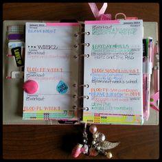 pretty planner