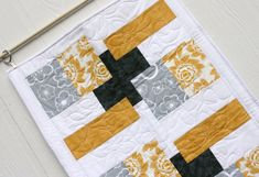 Modern Table Runners Peugen throughout measurements 1000 X 1000 Contemporary Quilted Table Runners - According to your location you will have your very own Patchwork Table Runner, Table Runner Pattern, Quilted Table Runners, Contemporary Table Runners, Modern Table Runners, Square Patterns, Quilt Patterns, Quilting Ideas, Quilting Projects