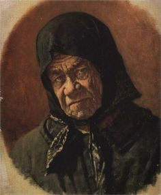 Beggar, Ninety Six Years Old, 1891  Vasily Vereshchagin