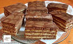 STOLWERCK SZELET Cookie Bars, Fun Desserts, Chocolate Chip Cookies, Tiramisu, Chips, Ethnic Recipes, Deserts, Cooking, Potato Chip