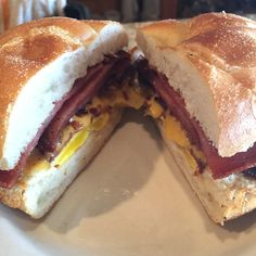 Pork Roll, Egg & Cheese Pork Roll, Sandwiches, Rolls, Eggs, Cheese, Breakfast, Recipes, Food, Morning Coffee