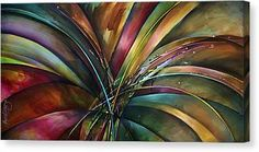 'Lily's Song' Canvas Print by Michael Lang. All canvas prints are professionally printed, assembled, and shipped within 3 - 4 business days and delivered ready-to-hang on your wall. Choose from multiple print sizes, border colors, and canvas materials. Animal Art Projects, Sad Art, Simple Art, Canvas Art Prints, Fine Art America, Giclee Print, Abstract Art, Abstract Paintings, Contemporary Paintings