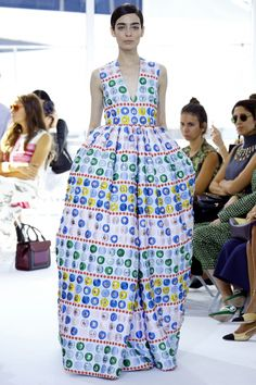 Delpozo ready-to-wear spring/summer '16: