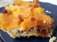 Egg, Potato and Cheese Casserole