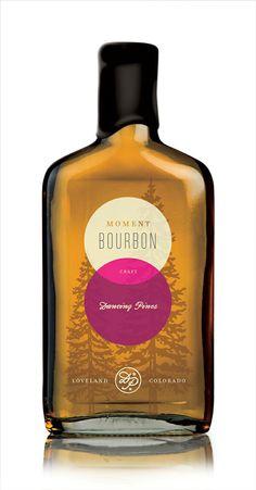 Bourbon bottle design