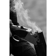 tumblr_ms8v27lLdL1svsq7do1_500.jpg 496×750 pixels ❤ liked on Polyvore featuring backgrounds, gun and pictures