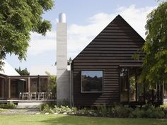 Point Wells Gable House by Pac Studio - Point Wells, New Zealand - The Local Project Wells House, Gable House, Architecture Awards, Residential Architecture, Timber House, House And Home Magazine, Architect Design, Prefab, The Locals