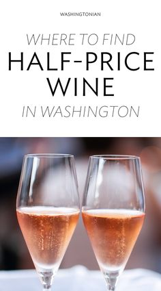 Restaurants and bars that pour discount vino, all week long   Washingtonian