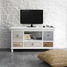 TV-meubel wit - Ouessant