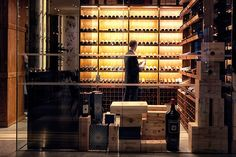 Ristorante Frescobaldi - ContactDetails Wine Display, Wine Cellar, Restaurant Design, Wine Rack, Fish, Furniture, Home Decor, Riddling Rack, Decoration Home