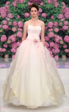 wedding dress 2013 Trends bride & groom Stunning Wedding Dresses by Anna Campbell 2013 atelier aimee bridal 2013 rose pink purple print colo. Purple Wedding, Wedding Colors, Wedding Styles, Wedding Photos, Rose Wedding, Wedding Dress 2013, Amazing Wedding Dress, Bridal Collection, Dress Collection