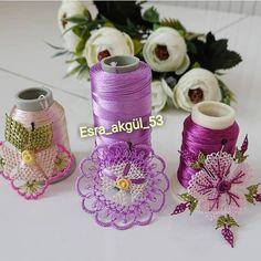 Yeni çiçekler gelene kadar eskilerden paylaşım yapıyım.. 💜💛💜💛 Home Crafts, Diy And Crafts, Tatting, Needle Lace, Sewing, Pattern, Instagram, Crochet Edgings, Girly Girl