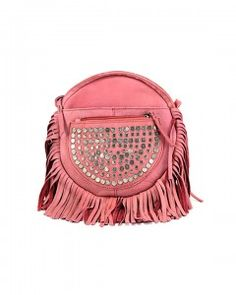 Cut n' Paste Zoe Leather Crossbody in Antique Rose. Love this Summer Crossbody Bag from Lufli Boutique. www.lufli.com