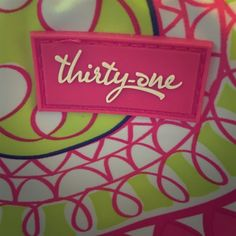Thirty-one tote Thirty-one insulated, bright, and colorful lunch tote w/pocket on back.  Never used, perfect condition.  Has zipper on top to close.  Use offer button, please.  No trades or PP.  Comment for more info if interested!  Thirty-one Bags Totes