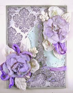 Love this design by Suzz for the Simon Says Stamp Monday challenge (Pastels)