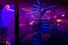 the Envy Nightlife, Albuquerque, New Mexico. the Envy Nightlife, Albuquerque, New Mexico. Club Lighting, Neon Lighting, Interior Lighting, Lighting Design, New Mexico, Lila Party, Nightclub Design, Techno, Neon Nights