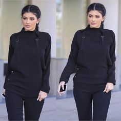 I'm not a fan of the Kardashian clan but, I would wear this outfit any day.