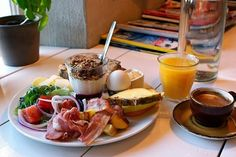 Icelandic people tend to eat breakfast at home but that doesn't mean you need to go hungry.