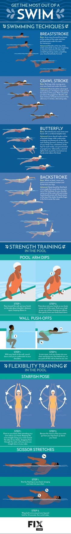 Splish and splash your way into a healthier life by learning why water workouts are one of the best ways to get a full-body workout!