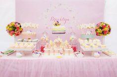 Pastel Butterfly Garden Ideas Planificación Artículos de fiesta Idea Cake Decor