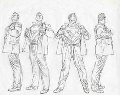 SupermanTurnarounds https://www.facebook.com/CharacterDesignReferences