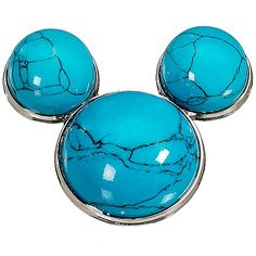 WANT - Blue Turquoise Mickey Mouse Pin Mickey Mouse Jewelry, Mickey Mouse Pins, Mickey Mouse Earrings, Mickey Head, Mickey Mouse And Friends, Disney Jewelry, Disney Cats, Disney Disney, Disney Stuff
