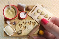 tiny Cookies prep board miniature