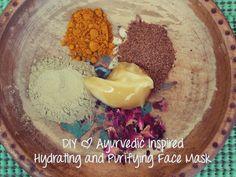 DIY | Ayurvedic Inspired Hydrating and Purifying Face Mask  #diy #diybeauty #skincare