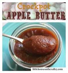 You will love this easy crockpot apple butter recipe. You can leave it overnight to cook, and wake up with the homey smell of apple butter!