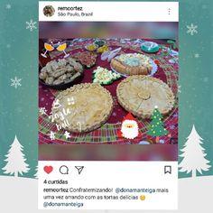 """56 curtidas, 2 comentários - Dona Manteiga (@donamanteiga) no Instagram: """"Então é época de confraternizar? Adoramos participar das Festas de Fim de Ano. #tortafeliznatal…"""""""