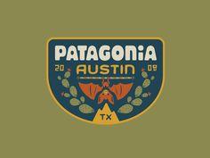 c033988e1d6 Patagonia Austin by Lauren Dickens Badge Design