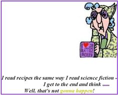 This is true of those recipes with some odd ingredients