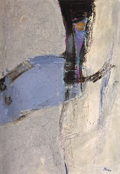 Incontro - 2014 - olio su tavola - cm 44 x 64