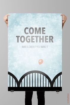 #posterdesign Come together Digitaldruck Poster Come Together, Poster, Design, Concept, Design Comics, Posters