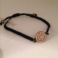 Dainty Flower Bracelet Good Bead brand. Never used still tags Good Bead Jewelry Bracelets