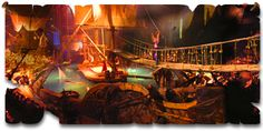 a pirate show dining experience - might be too much like legoland though