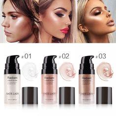 Face Eye Glitter Liquid Highlighter Lip Nose Glow Kit Make Up Brighten Shimmer Beauty Cosmetic. Liquid Highlighter, Highlighter Makeup, Contour Makeup, Skin Makeup, Bronzer, Beauty Makeup, Contouring, Glow Makeup, Beauty Skin