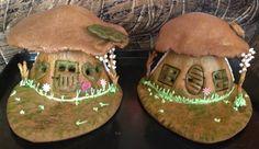 gingerbread house mushroom house