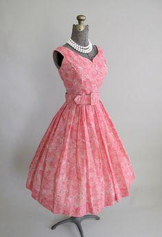1950s Jerry Gilden Spectator Party Dress