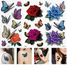 Cheap fake tattoo designs, Buy Quality waterproof tattoo directly from China pattern tattoo designs Suppliers: Fake Tattoos Design Temporary Tatoos Stickers Temporary Body Art Waterproof Tattoo Pattern Henna Fake Tattoo Tatouages