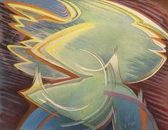 Lawren Harris - (  abstract painting )