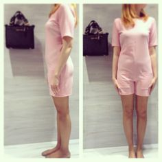 pink romantic jumpsuit